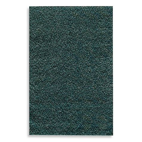 teal bathroom rug rugs america cambria expo shag rug in blue and teal bed bath beyond