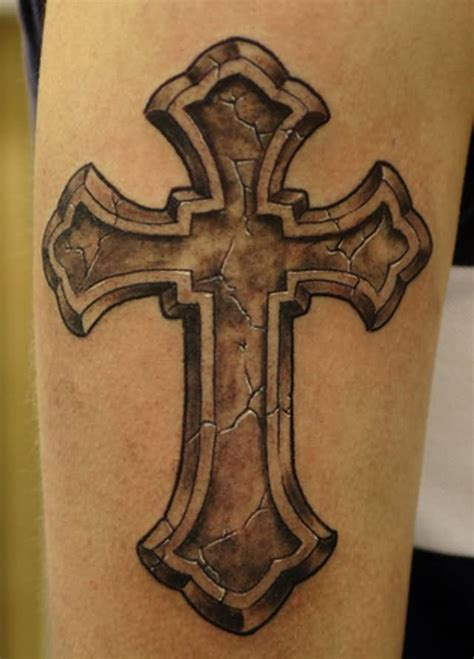black and grey cross tattoos 105 beautiful 3d cross