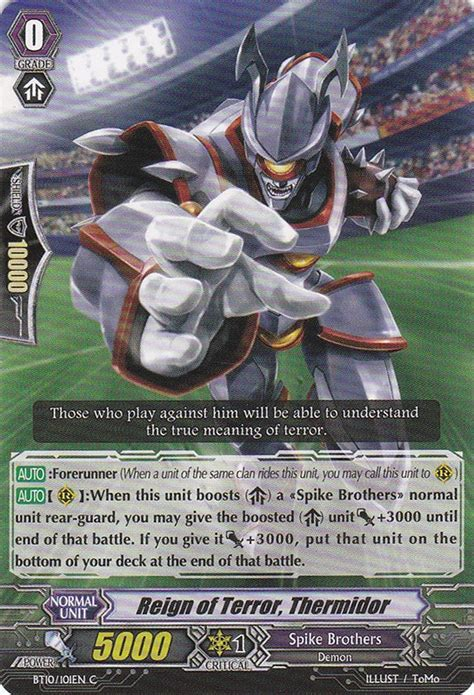 of terror thermidor cardfight vanguard wiki fandom powered by wikia