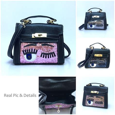 Sale Tas Fashion Wanita Import Handbags Mba689 Black Pink jual b2040 pink handbag import cantik grosirimpor