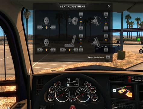 mod game euro truck driver ats ve ets2 i 231 in ayarlanabilir direksiyon geliyor