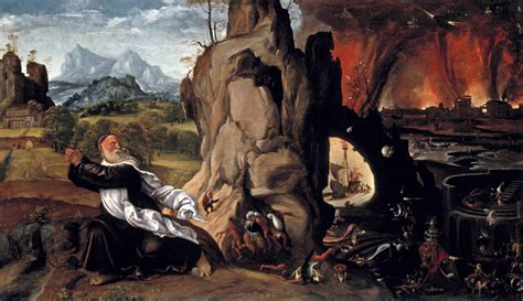 Torment Of St Anthony By Essay by Girolamo Savoldo Torment Of St Anthony 1515 20 Timken Museum At San Diego