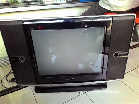 Tv Sharp Slim 21 q blatcomputer tv 21 sharp slim ii