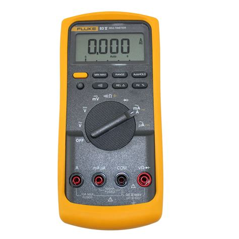 Multimeter Fluke 83 fluke 83v industrial digital multimeter