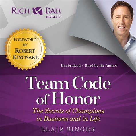 the business of honor restoring the of business books rich advisors team code of honor audiobook