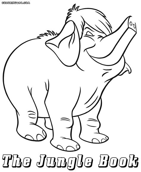 jungle cubs coloring pages pin jungle book baloo coloring pages on pinterest