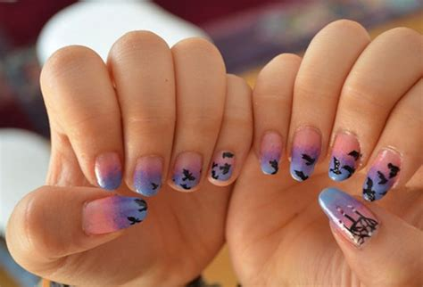 pattern acrylic nails 30 cool acrylic nail designs