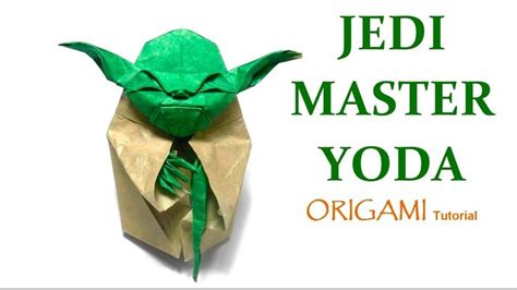 Origami Master Yoda - 1000 ideas about origami yoda on wars