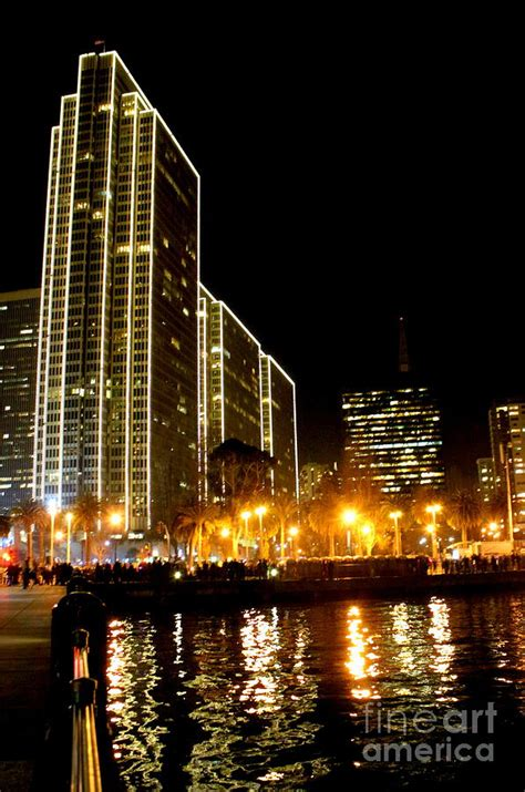 Night Lights Of San Francisco Photograph By Irina Hays San Francisco Lights Tour
