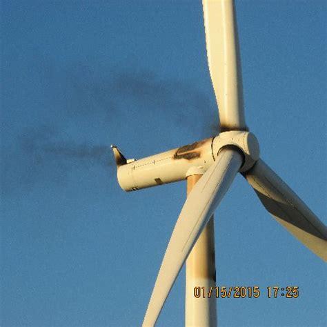 Green Bookshelf Wind Turbine Bursts Into Flames In Ocotillo East County