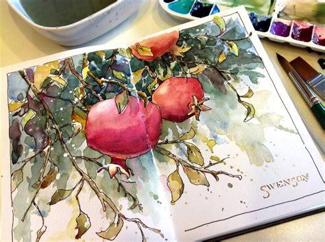 sketchbook watercolour brenda swenson sketchbook snob