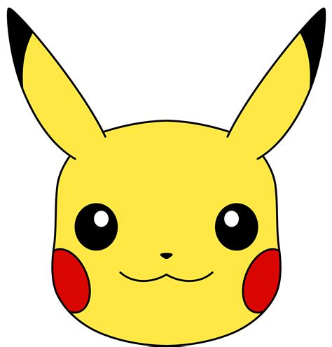 how to draw pikachu s face hellokids com pikachu s face vector by ryanthescooterguy on deviantart