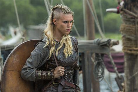 the vikings tv series hairstyles sneak peek new pics vikings season 3 lagertha ragnar