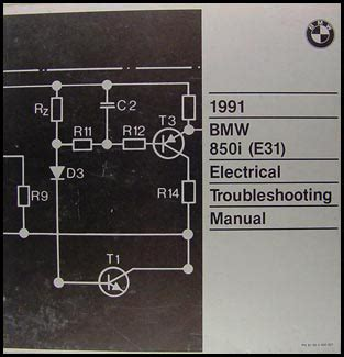 1992 bmw 850 i owners electrical service manual e31 parts 1991 8 series e 31 ebay 1990 1992 bmw 850i repair shop manual reprint