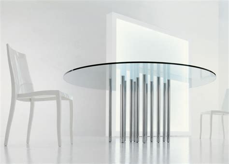 Glass Dining Table Uk Bonaldo Mille Glass Table Glass Dining Tables