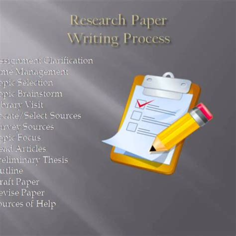 research paper writing process research paper writing process