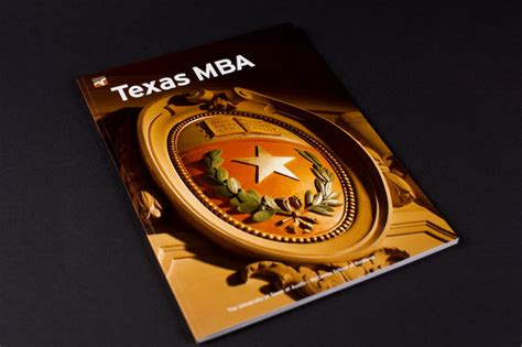 Mccombs Mba Brochure by Of Mccombs School Of Business Mba