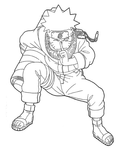 Free Printable Naruto Coloring Pages For Kids Print Coloring Sheets