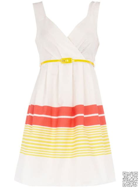 Bright Sundresses by 8 Dorothy Perkins Yellow Stripe Sundress 10 Bright