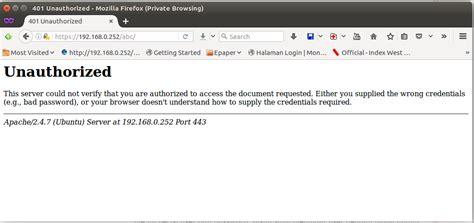 cara membuat hak akses user di php cara proteksi akses folder di web server apache dengan