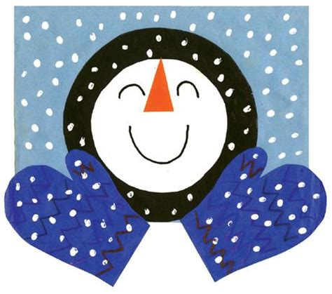 Winter Construction Paper Crafts - 1073 best adaptive images on preschool