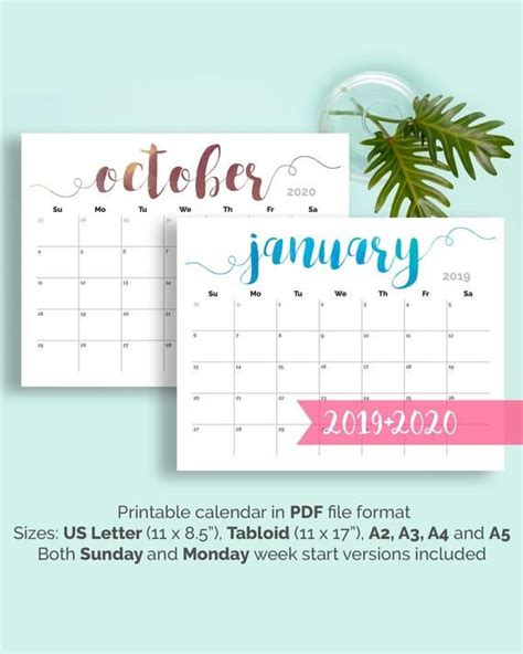 printable calendar large wall calendar desk