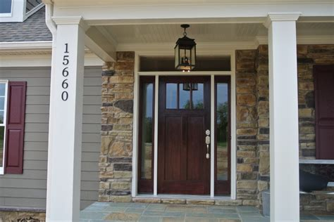 Craftsman Style Front Door Entry Dc Metro By Mike Front Door Craftsman Style
