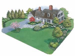 House Plans With Landscaping by Landscape Plan With 0 Square Feet From Dream Home Source