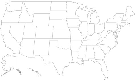 map of the united states to print out united states outline map