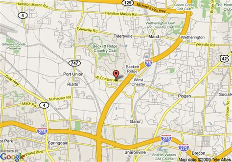 directions to comfort suites map of comfort inn and suites west chester