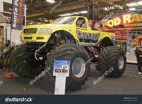 monster truck show in birmingham al birmingham england january 15 crusher monster truck