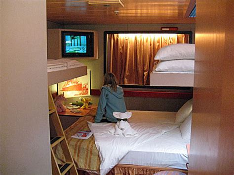 carnival paradise rooms cing on the high seas family cing