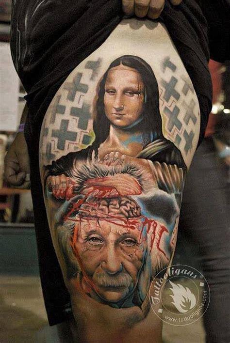 mona lisa tattoo artist george mavridis ink monalisa ink