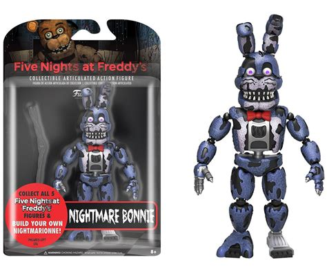 five nights at freddy s figures five nights at freddy s nightmare bonnie figure