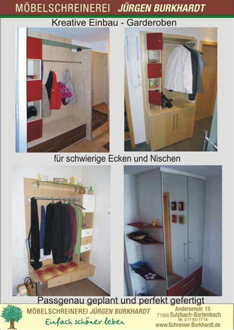 garderobe archive schreinerei burkhardt