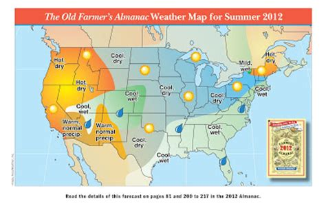 farmers almanac 2012 weather forecast wetter than normal maple springs farm july 2012