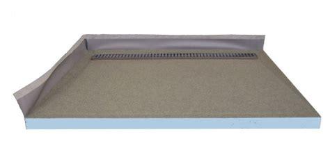 duschelement mit punktablauf begehbare dusche 80x80 cm mit 70 cm rinne edelstahl