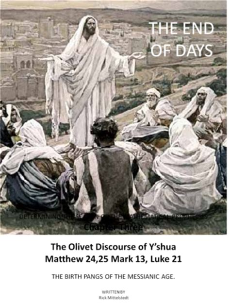 matthew 24 25| does the olivet discourse predict two