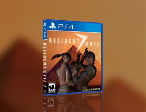 Ps 4 Resident Evil 7 resident evil 7 playstation 4 box cover by jengasoft
