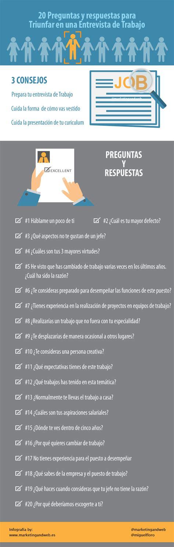 preguntas entrevista de trabajo rrhh 20 preguntas clave para una entrevista de trabajo