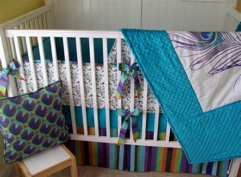 peacock crib bedding peacock crib bedding