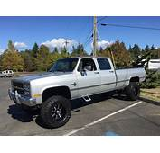 1991 Chevy Crewcab 4wd 4x4 V30 K30 K3500 For Sale
