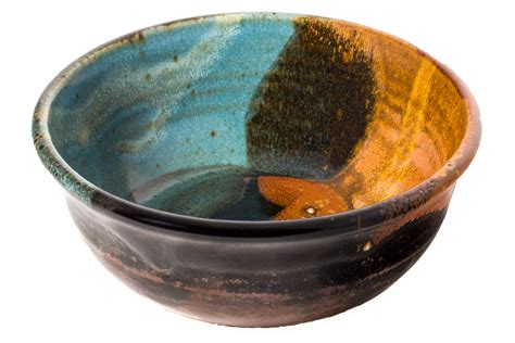 Handmade Clay Bowls - wheel thrown cereal bowl handmade pottery