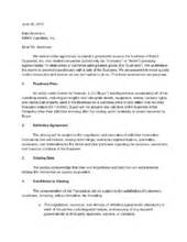how to write a letter of intent with sle letters