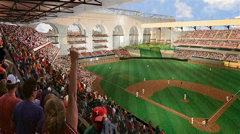 House Construction Plans by Architects Unveil Plans For Texas Rangers New Stadium In