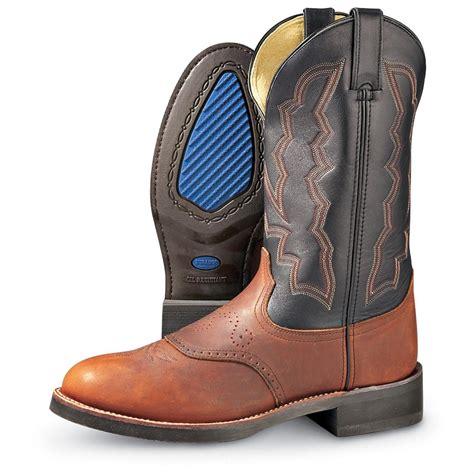 comfortable mens cowboy boots s comfort 174 western durango boot 174 briar black
