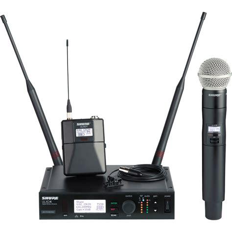 Mic Shure Ulx 4nkoper Alumenium Wireless shure ulx d digital wireless lavalier ulxd124 150 c l50