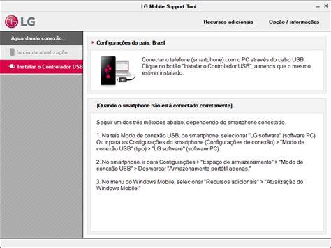 lg mobile support tool lg ajuda e solu 231 227 o de problema atualiza 231 227 o de software