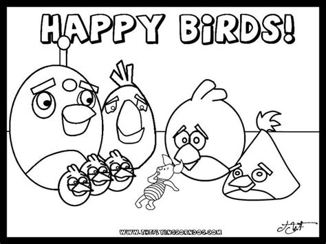 angry birds birthday coloring pages angry birds birdday party printable coloring pages