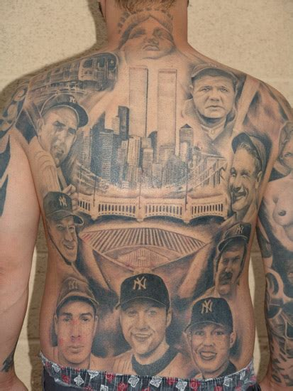 new york yankees tattoos designs new york yankees by robert pho tattoonow